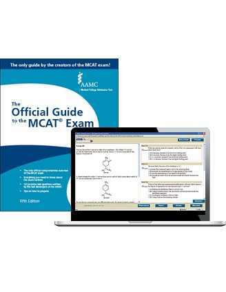 The Official Guide to the MCAT Exam + Online Practice Questions