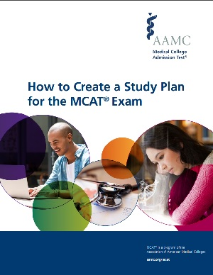 Image of the MCAT study plan guide