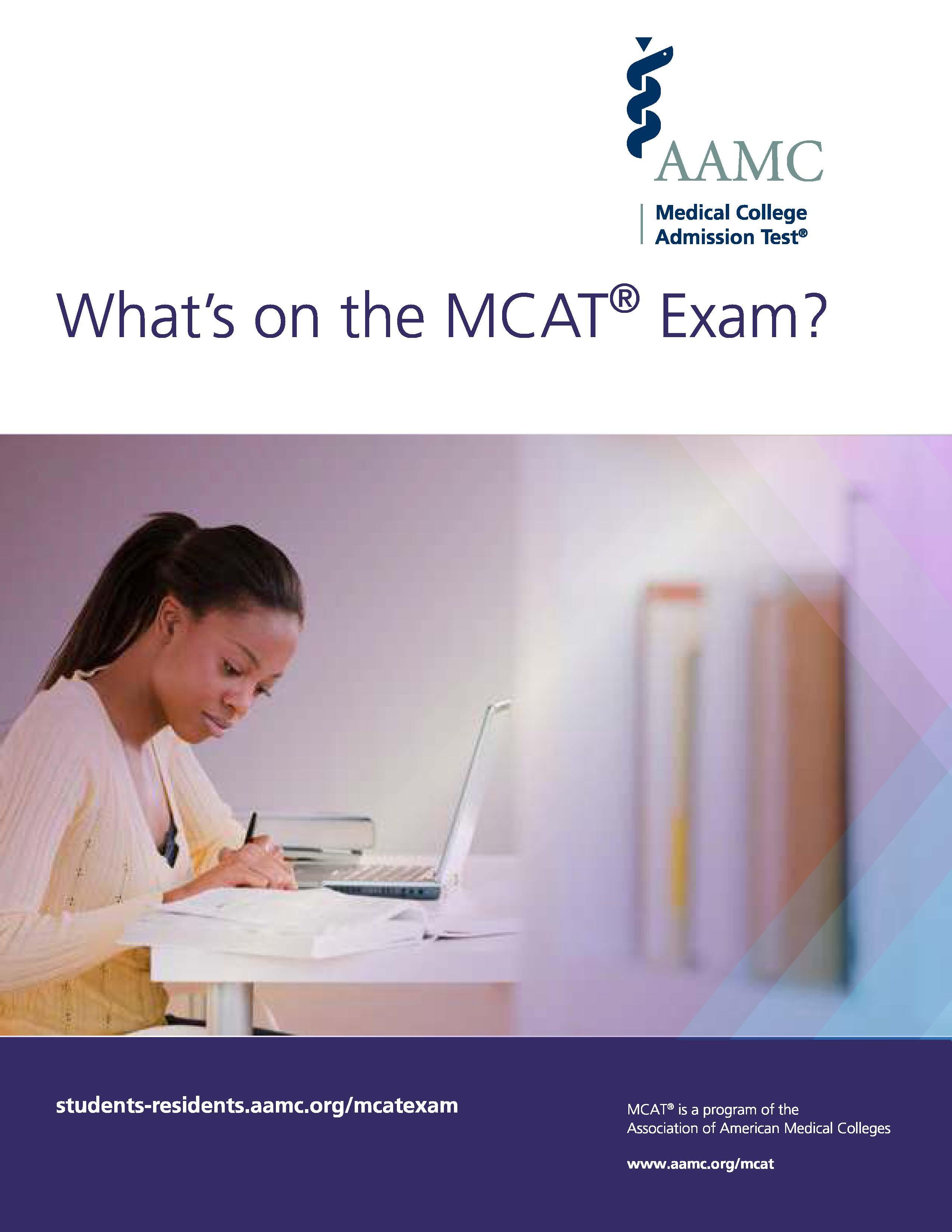 What's on the MCAT Exam?