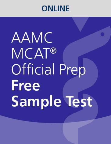 FREE AAMC MCAT Official Prep Sample Test
